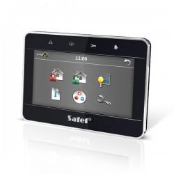 """INT-TSG-BSB - Manipulator z ekranem dotykowym 4,3"""" ciemny - SATEL"""